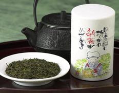 【2021年 初摘み新茶】牧之原台地 浅蒸し 100g(缶入り)