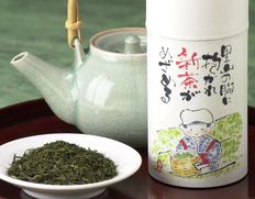 【2021年 初摘み新茶】牧之原台地 浅蒸し 200g(缶入り)