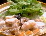 『大洗のあんこう鍋セット(湯引き済)』茨城県または北海道産 3〜4人前 ※冷蔵の商品画像