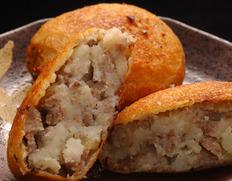 【熊本県肥育馬肉】『馬肉入りポテトコロッケ』(5個入り) ※冷凍